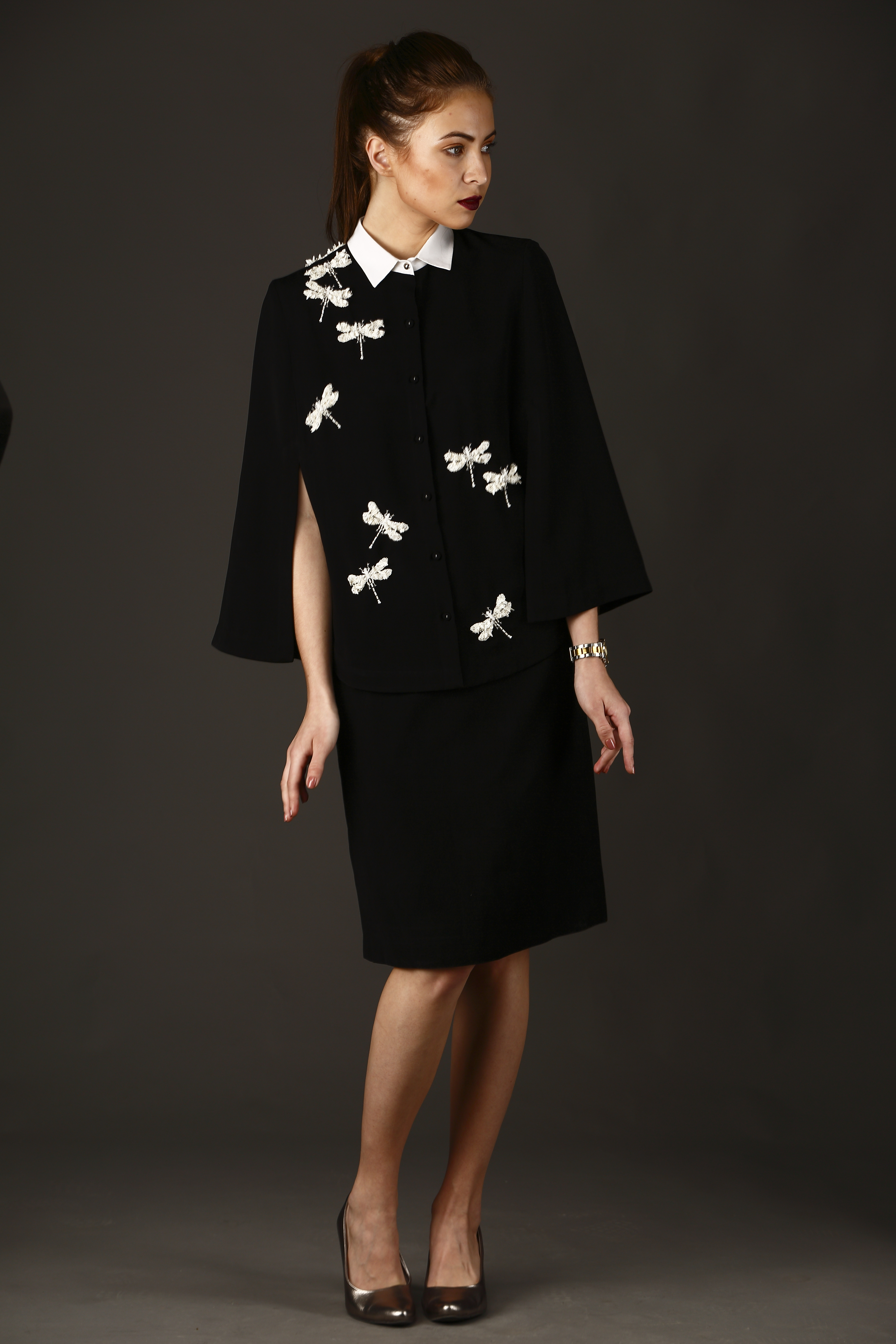 Dragonflies Shirt Cape With Pencil S