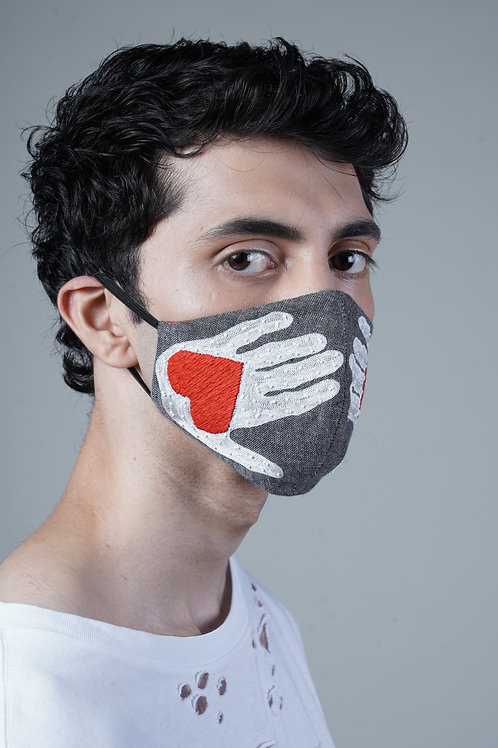 HEART HAND MASK - SMK011/M