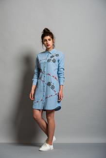 Love To Ride Shirt Dress