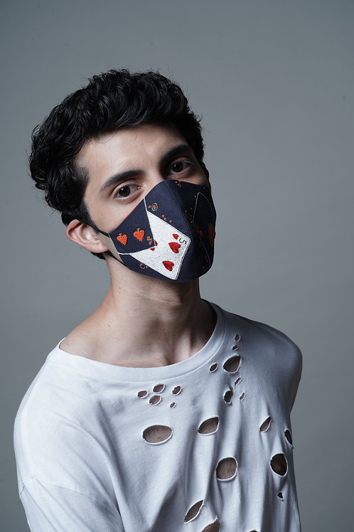 PLAYING CARDS MASK - SMK041/M