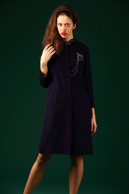 Pocket Watch Coat Dress