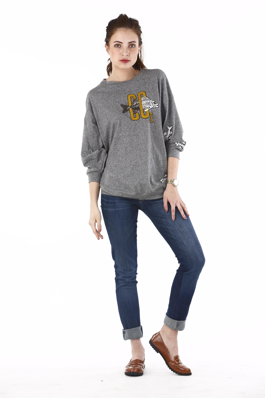 Co2 Summer Grey Sweatshirt