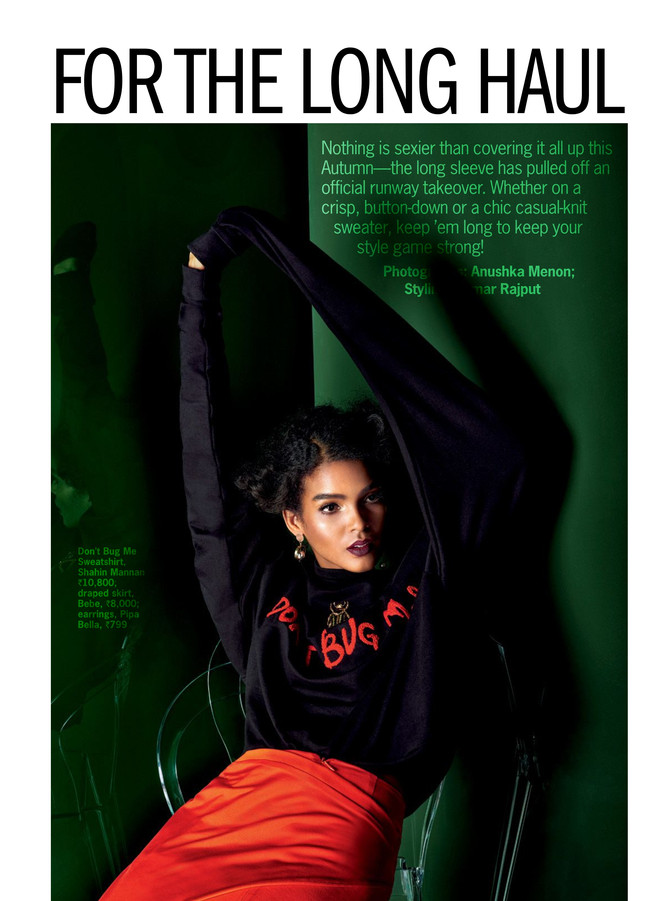 shahin MannaN's 'Don't Bug Me' Sweatshirt Got Featured In Cosmopolitan