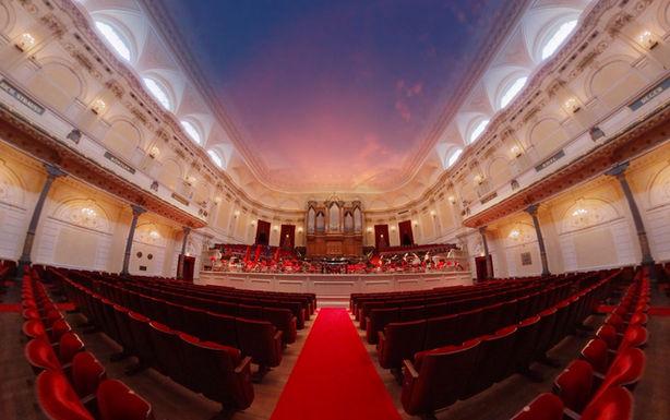 Het Concertgebouw  'Morgen'