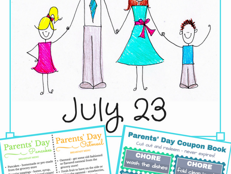 Parents' Day is Sunday!