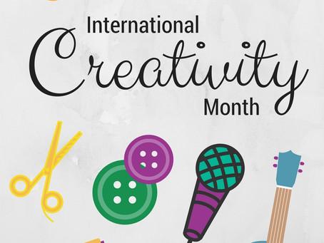 January is International Creativity Month