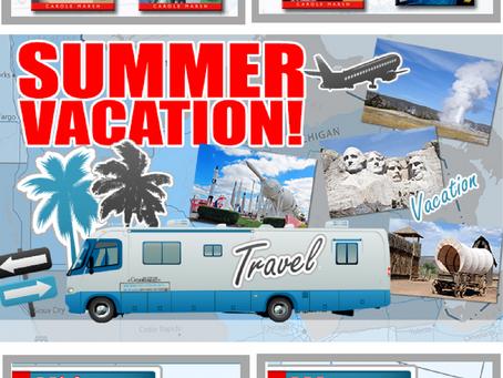 Summer Travel Books!