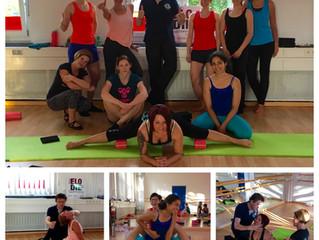Viel gelernt beim Flexibility Star Workshop mit Frederick van Laak