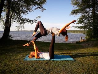 Starworkshop Acro Yoga und Aerial Yoga 13.07.2018 mit Regina