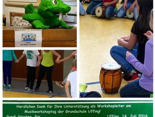 Musikprojekttag an der Uffinger Grundschule