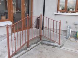 Domestic Wheelchair Access Railings