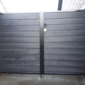 Plastic Boarded Panelled Gates