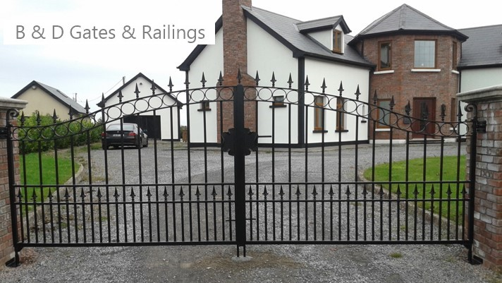 Stylish Iron Gate
