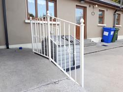 White Handrails