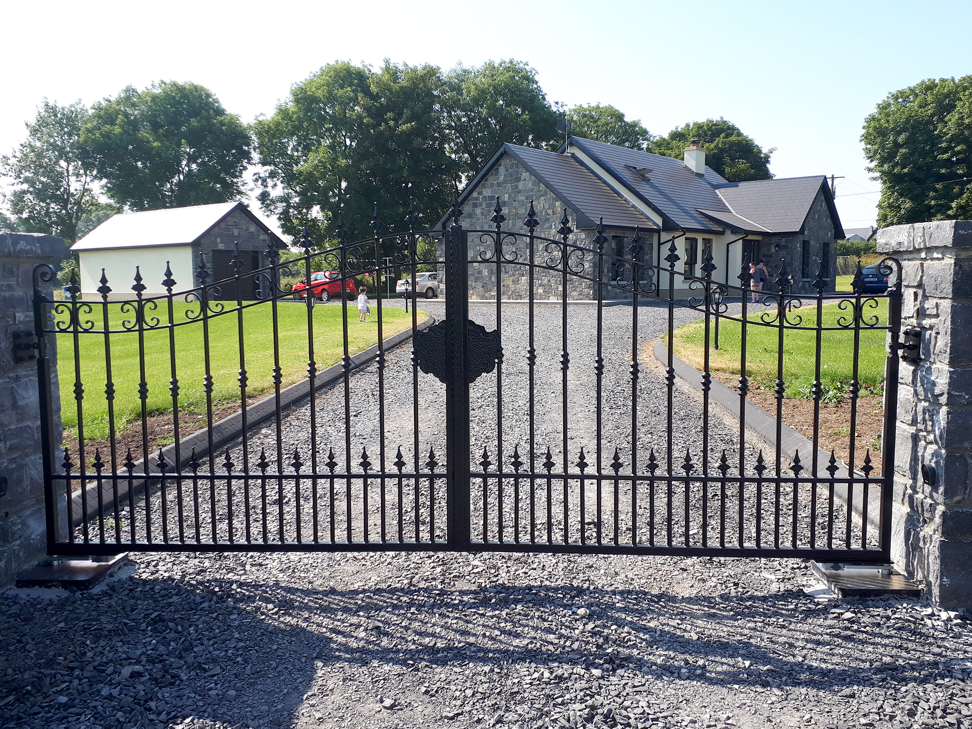 Gates Balnacargy