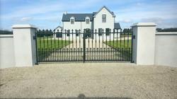 Rectangular Ornate Gates