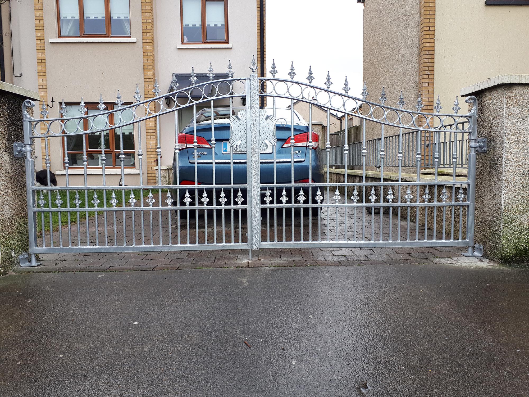Galvanized Finish Gates