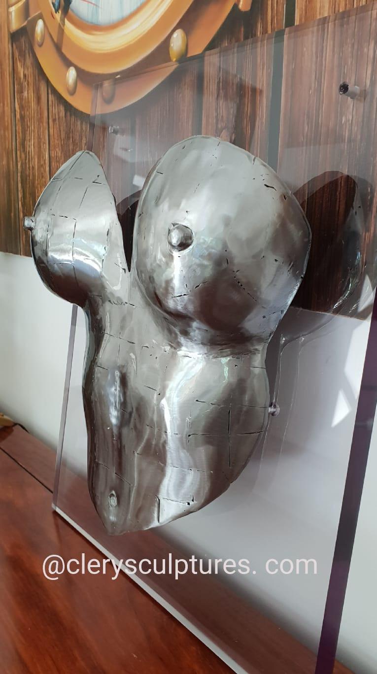 Esquisse by Pascal Cléry Sculpture Dimensions 48 x 40 cm