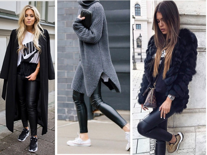Black Legging Outfit İdeas