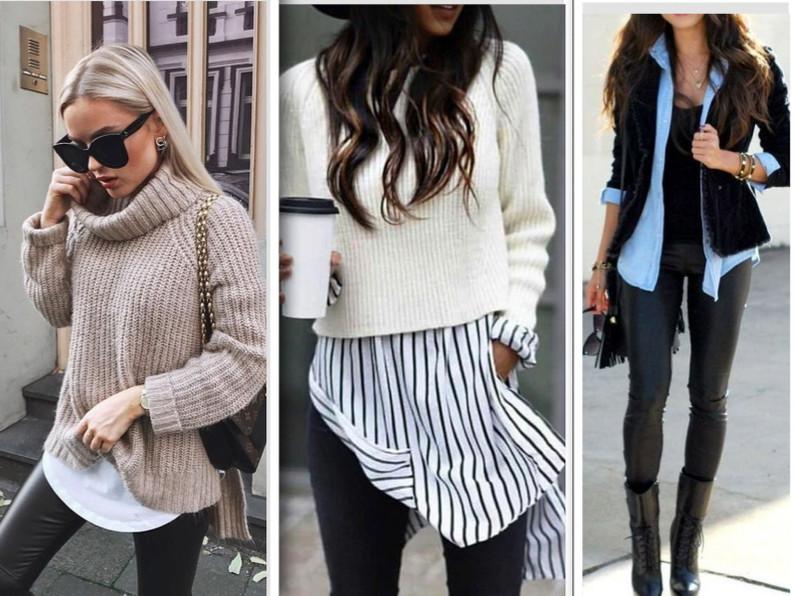 Trendy Ways To Wear Leggings