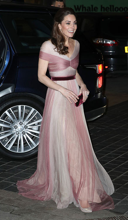 Kate Middleton stuns in Gucci gown