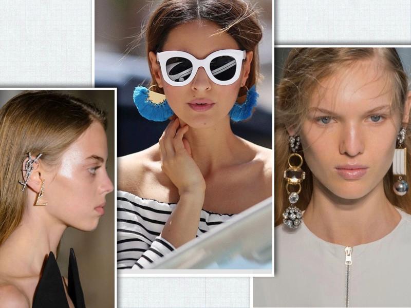 Statement Earrings via Pinterest