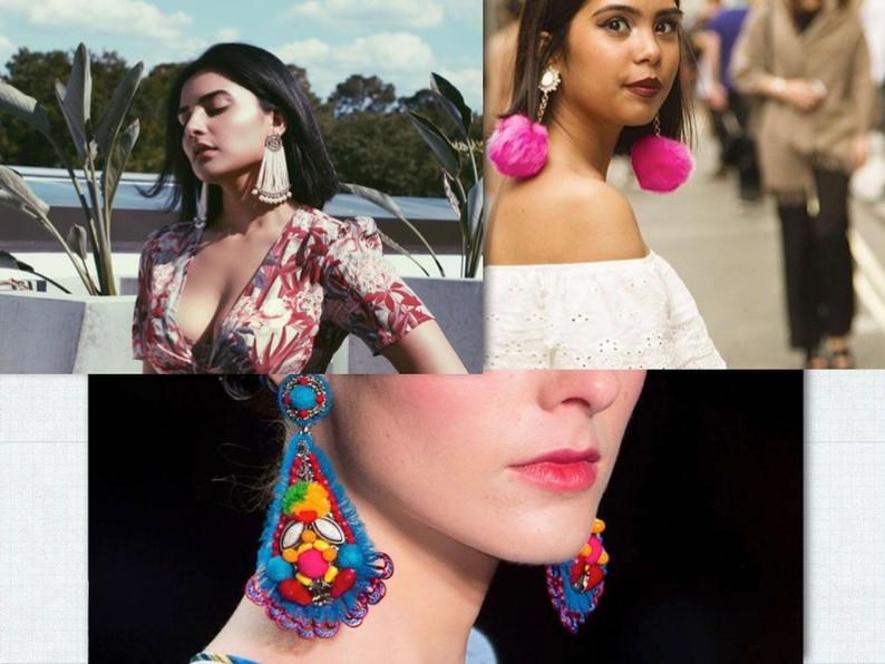 NEW SELFIE TREND: Statement Earrings!