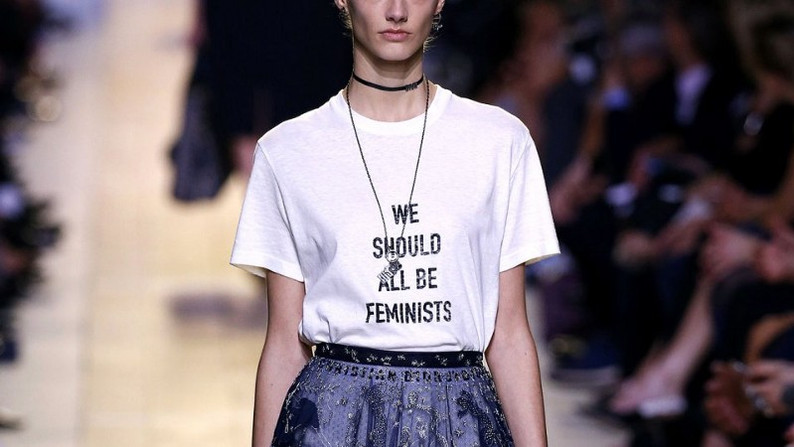 """FEMINIST"" SLOGAN SHIRTS IN!"