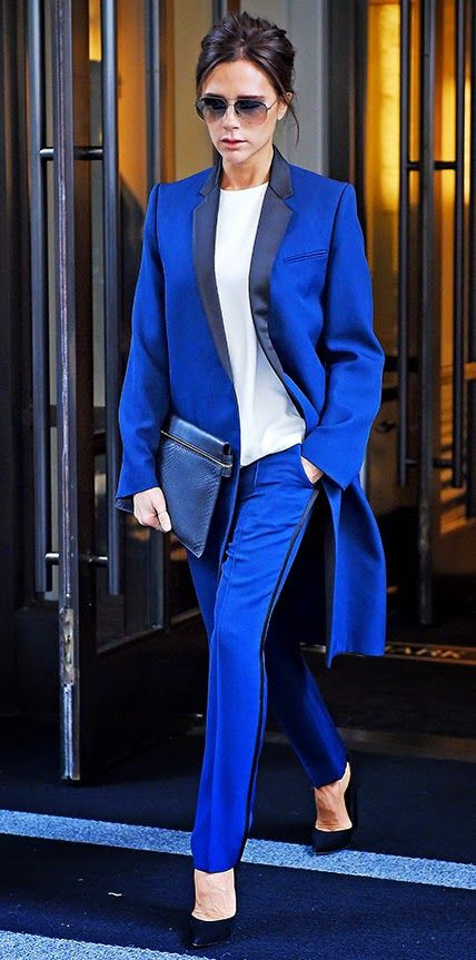 Colorful Suit Trend - Itgirl of the Office!