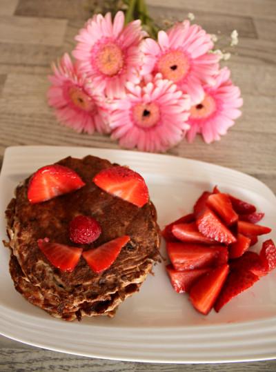 Die leckersten Pancakes - low fat & high protein!
