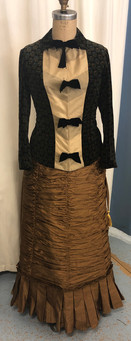 Victorian bustle outfit - Skirt