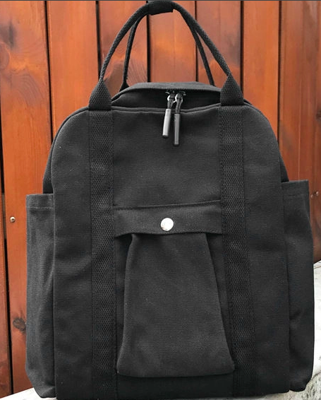 AIQER - Square Canvas Backpack