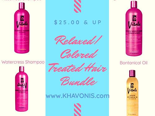 Relaxed/Color Enhanced Hair Bundle