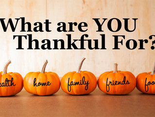 23 Things I am Thankful for on the 23rd #NationalGratitudeMonth