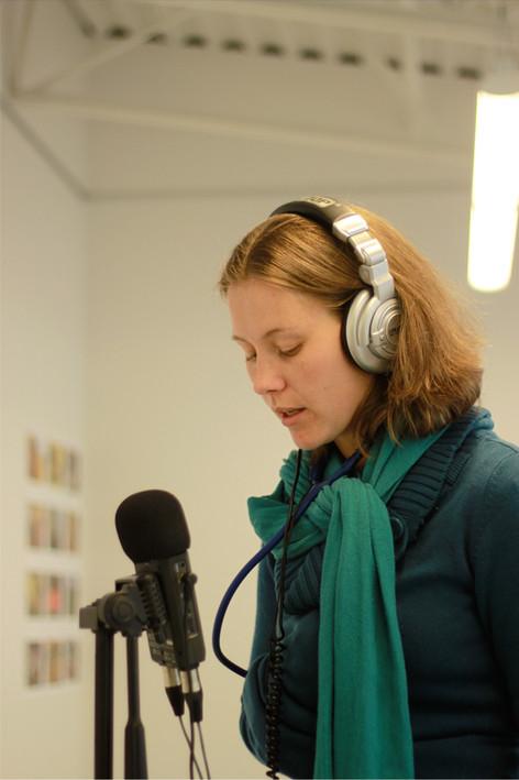 Stéphanie Verriest, artiste collaboratrice.