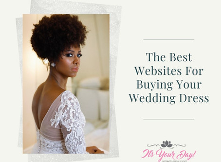 The Best Websites For Buying Your Wedding Dress