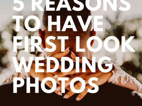 5 Reasons To Have First Look Wedding Photos