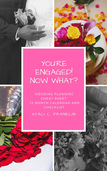Wedding Planning Cheat Sheet: 12 Month Calendar & Checklist