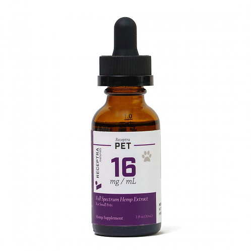 Pet 16 Tincture – 500mg (15mg per dose)