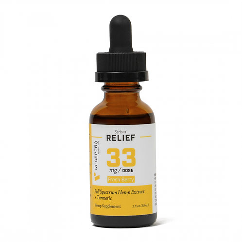 Relief 33 Tincture - NO THC 1,000mg