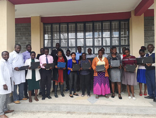 St Philips Primary School Receives Laptop