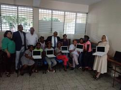 DR orphans getting laptops