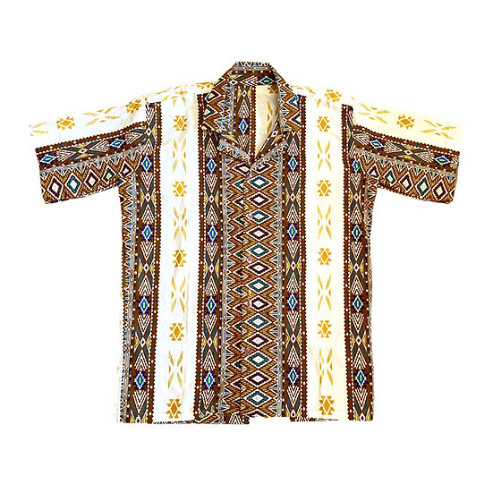 Camisa Dahomey yellow