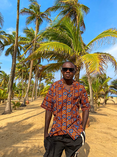 Camisa Dahomey etnic