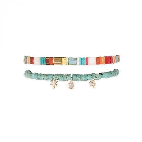 Bracelets Vaiana turquoise