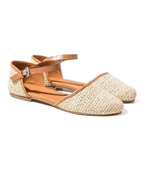 Chaussures Rafia nature