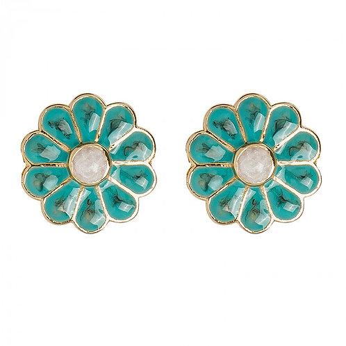 Boucle d'oreille Neva Turquoise