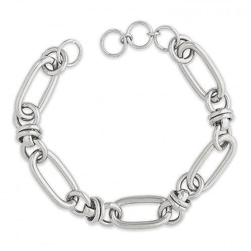 Bracelets CLARE 05 silver+ bigstone silver