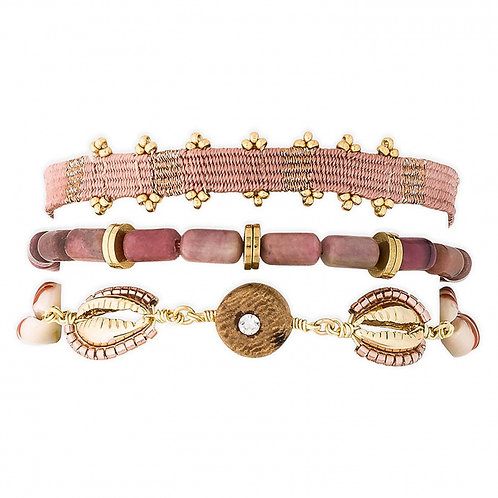 Bracelets Robinson blush