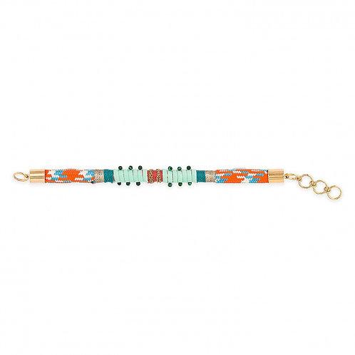 Bracelets Deedee + MiniPure gold blue